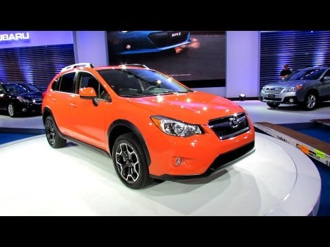 2013 Subaru XV Crosstrek Exterior and Interior - Debut at 2012 New York International Auto Show