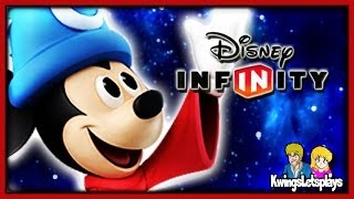 Disney Infinity Sorcerer's Apprentice Mickey Gameplay