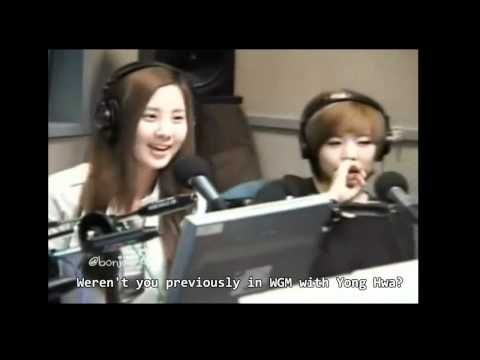 [Eng sub] 111107 SBS Power FM SNSD Seohyun's ideal type of guy + Yong Hwa