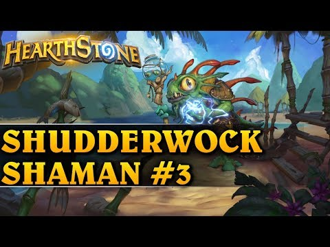 RAT TRAP OP! - SHUDDERWOCK SHAMAN #3 - Hearthstone Decks std