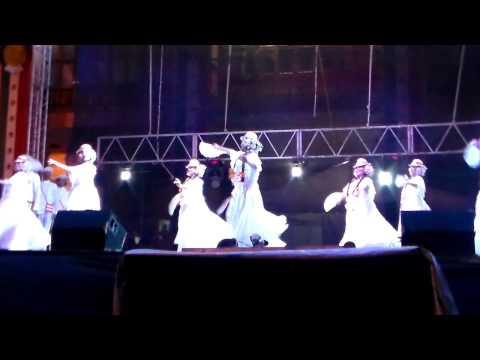 12° Festival Internacional de Folklor Latinoamericano participación República de Panamá en Fiestas P