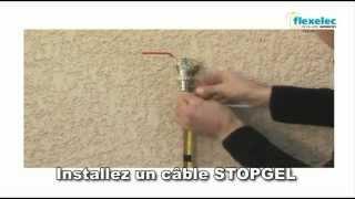 Câble Chauffant STOPGEL De FLEXELEC Protection Contre Le