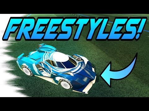 rocket league goals freestyles with the samurai car new triumph