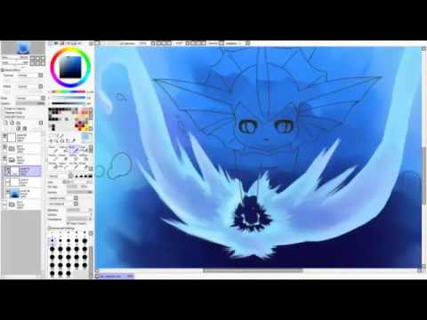 Nel Vaporeon Speed paint
