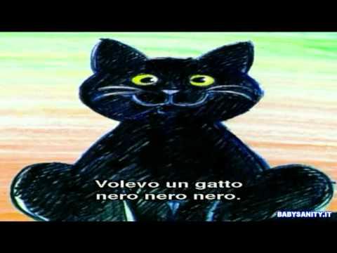 Volevo un gatto nero - Zecchino d'Oro  HD 16:9