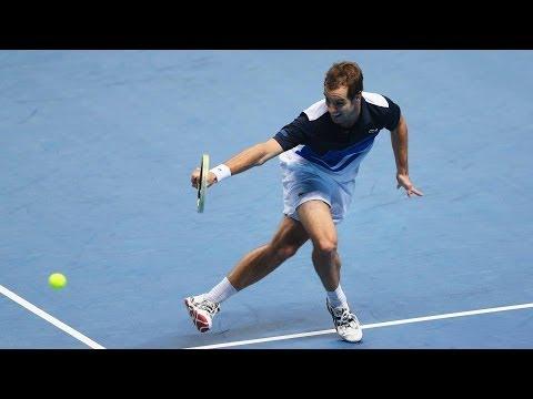 Barclays ATP World Tour Finals 2013 Thursday Hot Shot Gasquet