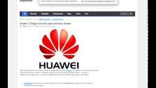 Huawei Códigos Secretos Para Celulares Huawei