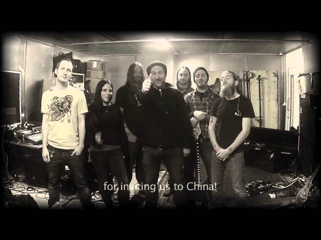 Eluveitie in China - trailer for the upcoming shows in China
