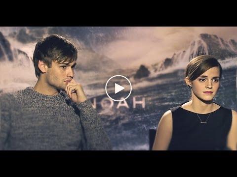 NOAH Interviews; Feat: Emma Watson, Douglas Booth & Ray Winstone