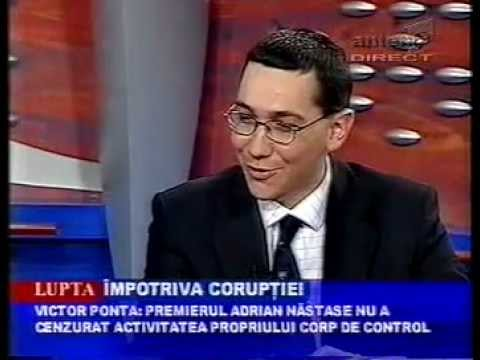 8.05.2002 - Corpul de Control al premierului lupta impotriva coruptiei