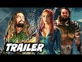 Justice League Aquaman Trailer - New Armor Upgrade Scene Breakdown