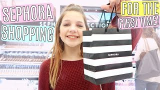 MakeUp Shopping at Sephora for the First Time