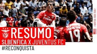 28/07/2018 - International Champions Cup - Benfica-Juventus 1-1 (2-4 dcr), gli highlights