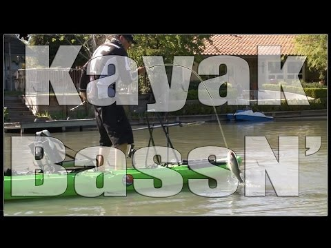 Kayak Bass Fishing!