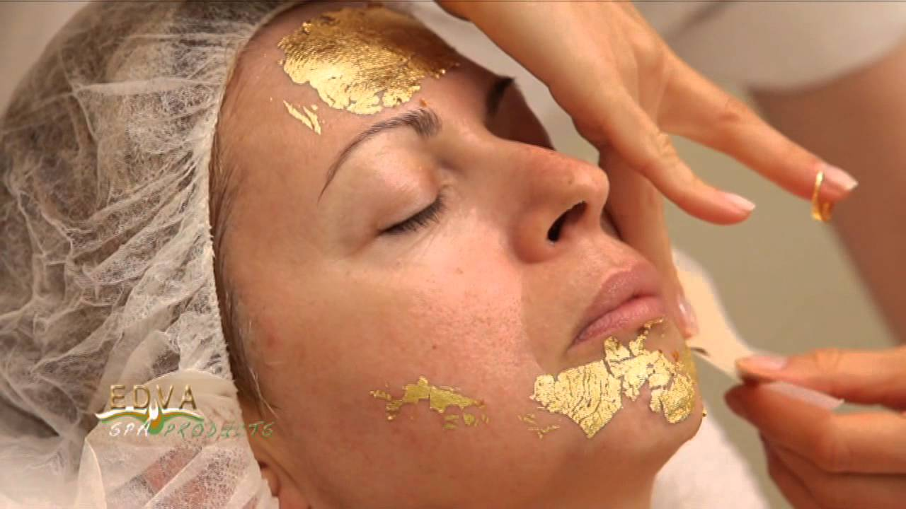 All? gold facial video was under