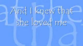 When She Loved Me Sarah McLachlan Lyrics