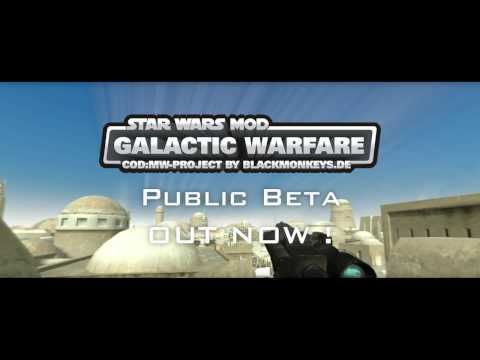 Beta 0.4 of Star Wars Mod: Galactic Warfare