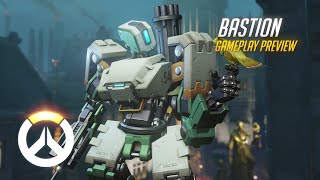 Overwatch: Bastion Gameplay Preview