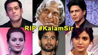 Bollywood Reacts To APJ Abdul Kalam's Demise
