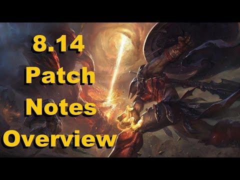 League of Legends   8.14 Patch Notes Overview