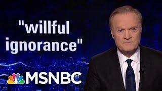 Rpt: Donald Trump Has 'Stubborn Disregard' For Intelligence Briefings | The Last Word | MSNBC