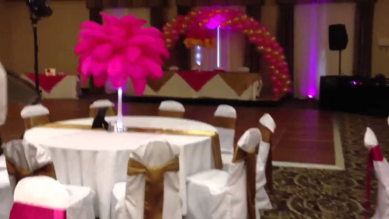 Sweet 16 Unique Centerpieces Youtube