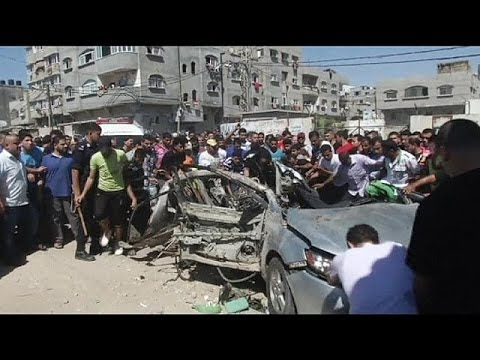 Israeli airstrike kills two suspected militants in Gaza