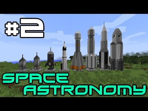 Minecraft Space Astronomy - Mining and Grout! #2