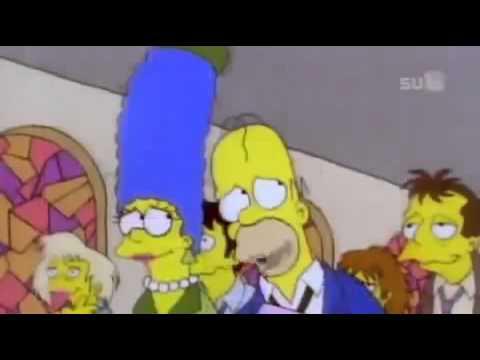 The Simpsons In The Garden Da Vida