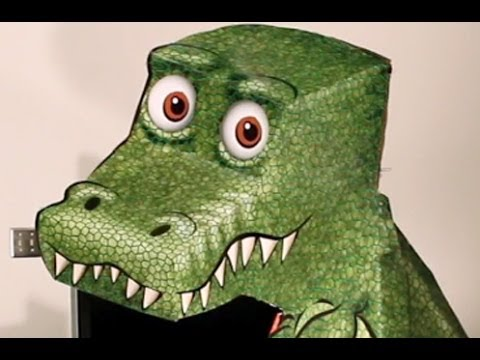 Amazing T-Rex Illusion!