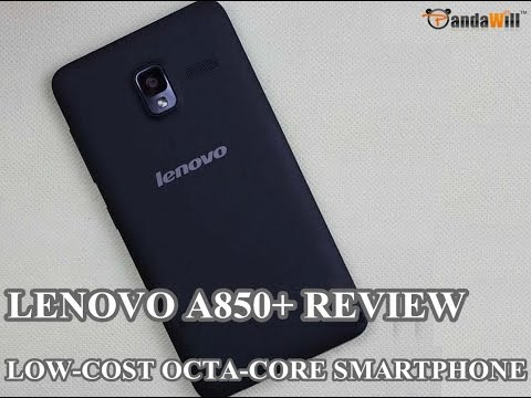 Lenovo A850+ Unboxing & Hands On - Cheapest OctaCore Smartphone