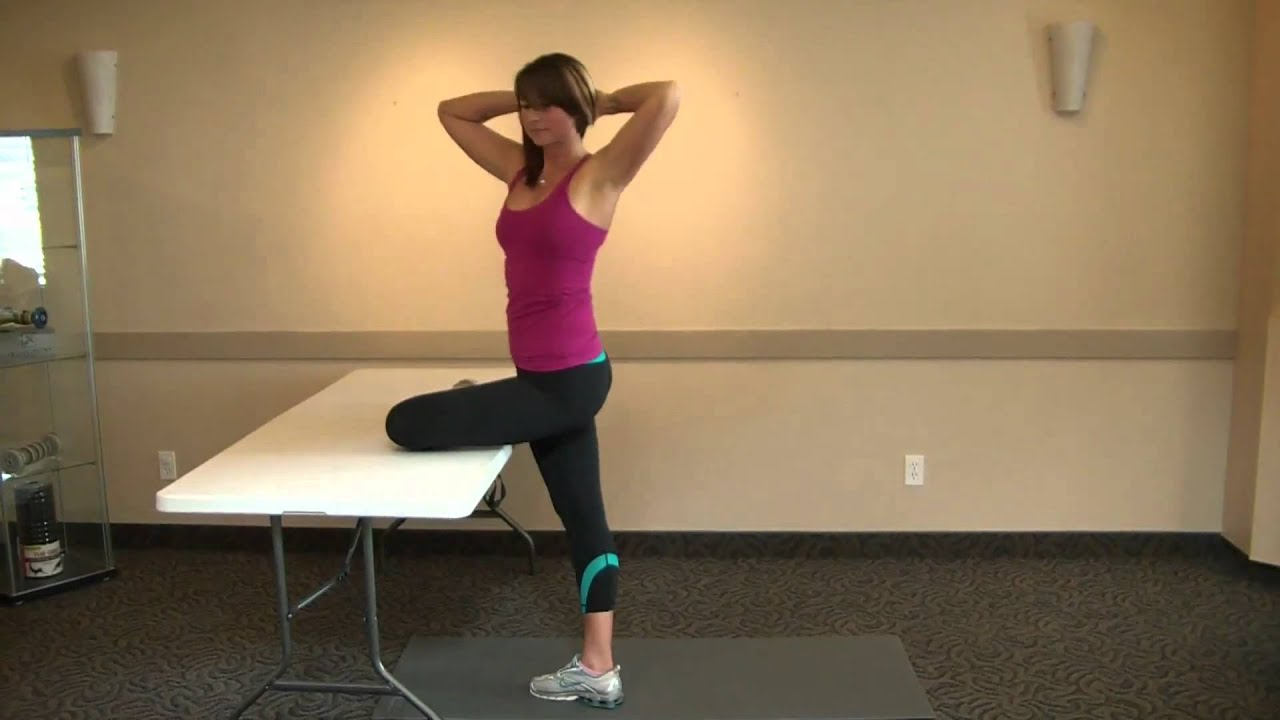 Stride Stretch with Hip External Rotation - YouTube