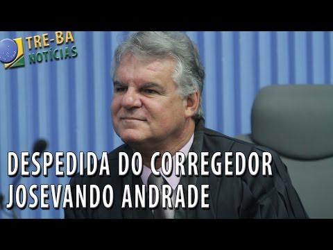 TRE-BA Notícias: Despedida do Corregedor Josevando Andrade