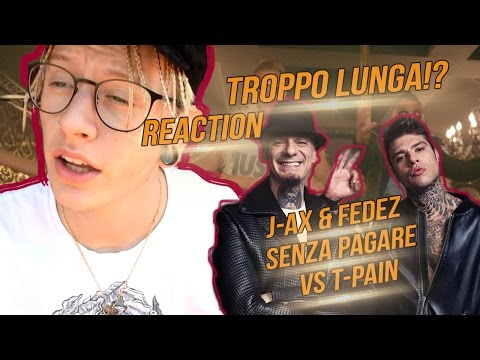 youtube video J-AX & Fedez - Senza Pagare VS T-Pain | REACTION | DAMNED to 3GP conversion