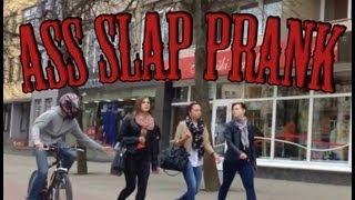 Slap On Ass Prank