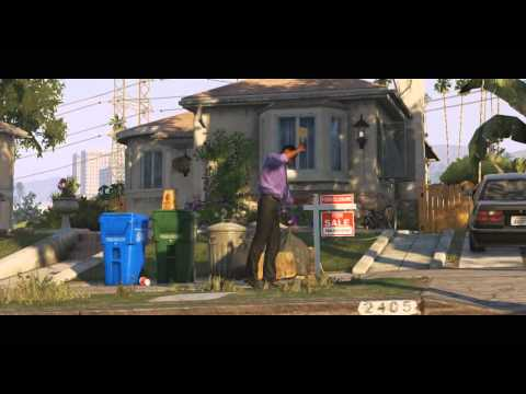 Дебютный трейлер GTA V: заряд позитива