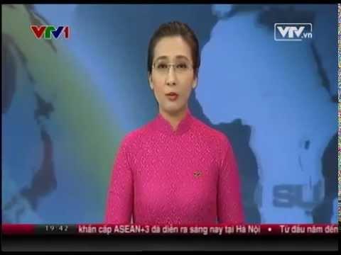 Công bố Báo cáo Thường niên Kinh tế Việt Nam 2014 trên thời sự 19h VTV1 ngày 29/05/2014