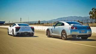 Тестове на: 2012 Lexus LFA vs 2010 Nissan GT-R