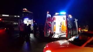 Turgutluda motosiklet kazasi 2 yaralı