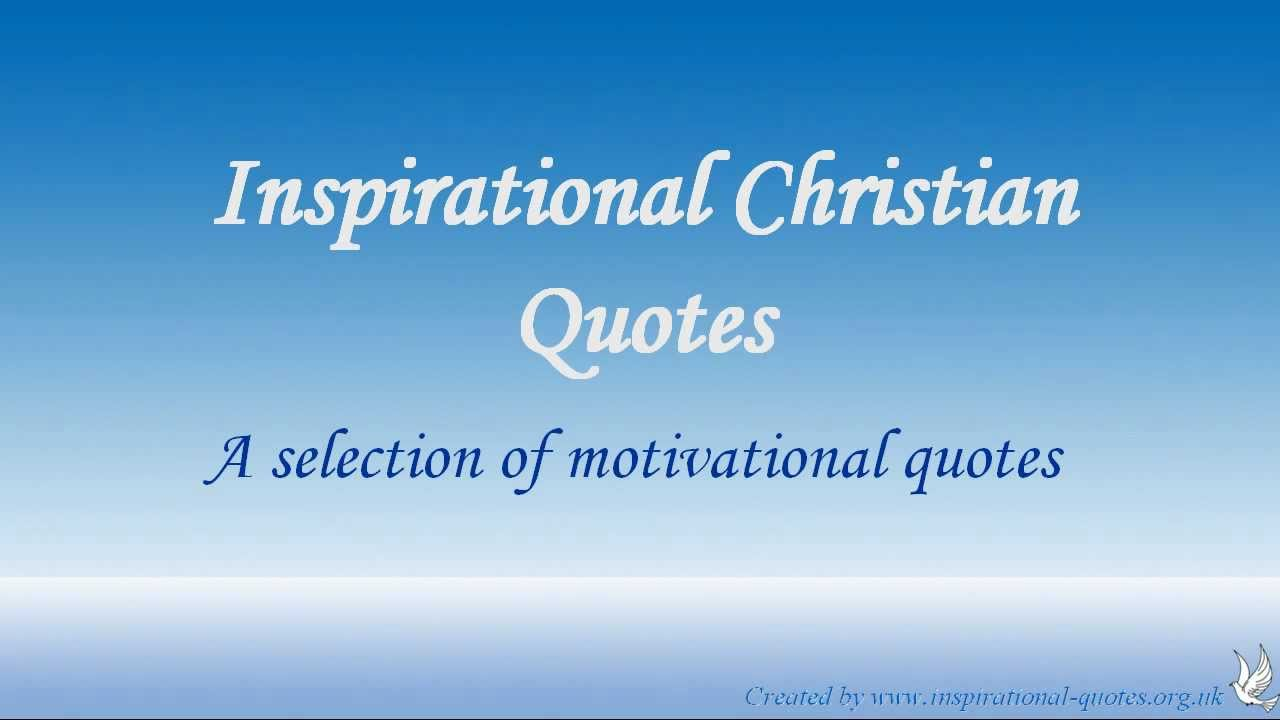 inspirational christian quotes youtube