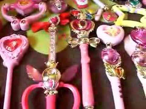 Sailor Moon TOY HEAVEN Wand Brooch Toy Collection P.3
