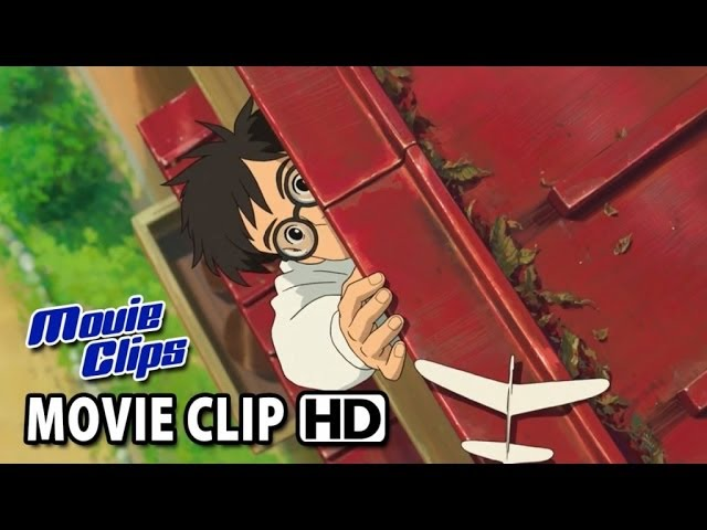 The Wind Rises Movie CLIP - Let The Wind Carry These Wings (2014) HD