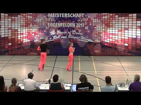 Rebekka Stahl & Daniel Langer - Deutsche Meisterschaft 2013