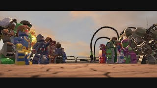Lego Marvel Super Heroes Ending & Secret Ending HD