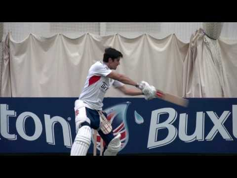 Alastair Cook batting masterclass - How to play the cut shot