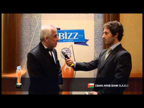 THE BIZZ 2013 -  INTERVIEW OMAN ARAB BANK S.A.O.C