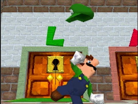 """Super Mario 64 DS - Episode 11 """"Luigi Time!"""", We set out to rescue the man in green!"""