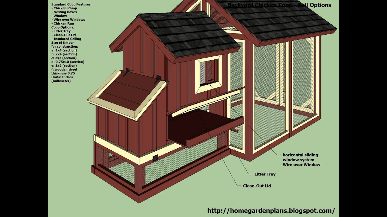 Awesome Backyard Chicken Coop Designs