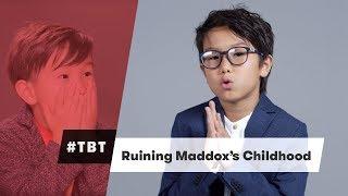 Ruining Maddox's Childhood - #TBT