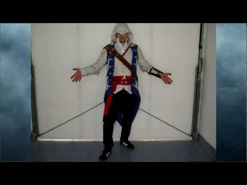 Connor costume from Assassins Creed 3